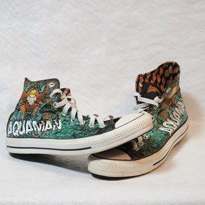 Converse Aquaman Black,Green,White,Orange (9)
